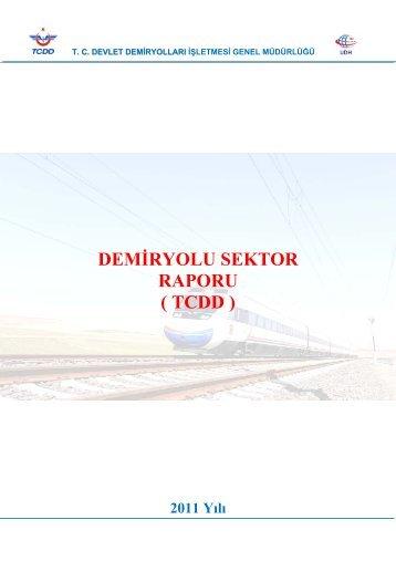 DEMÄ°RYOLU SEKTOR RAPORU ( TCDD )
