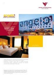 angelo Hotel Katowice to nowoczesny hotel biznesowo-konferencyjny