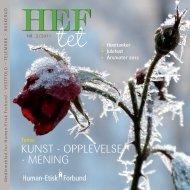 HEFtet 2-2011 - Human-Etisk Forbund