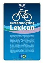 Lexicon Lexicon - European Cyclists' Federation
