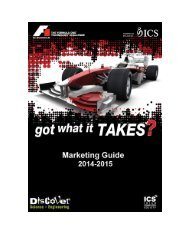 Marketing Guidelines for Teams - F1 in Schools