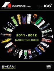 Download the F1 in Schools Marketing Guide