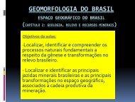 GEOMORFOLOGIA DO BRASIL - Associação Palotina