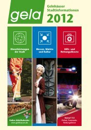 Abfallkalender 2012 Gelnhausen-Süd