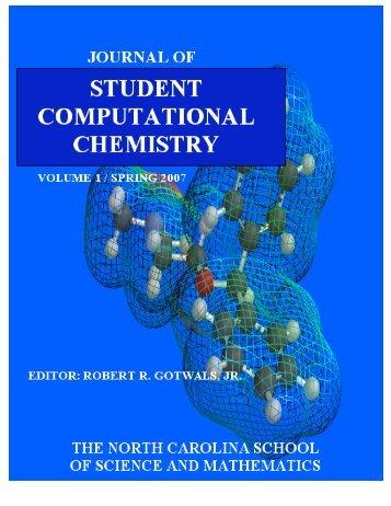 Journal of Student Computational Chemistry - North Carolina High ...