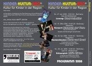 Flyer Backnang - Kinder-Kultur-ABO