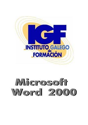 Descargar Word 2000 - Mundo Manuales