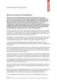 Blixten & Co rekryterar nya medarbetare