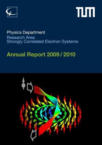 E21 Annual Report 2009/2010 - E21 - Technische Universität ...