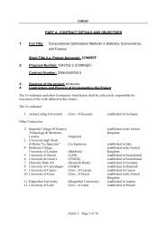 Annex I – Page 1 of 18 PART A: CONTRACT DETAILS AND ...