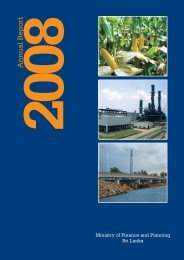 Annual Report 2008 - Ministry of Finance and Planning