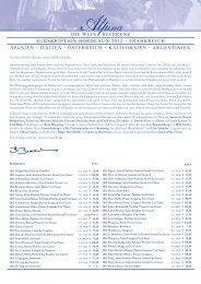 Subskription 2012 - Alpina Wein