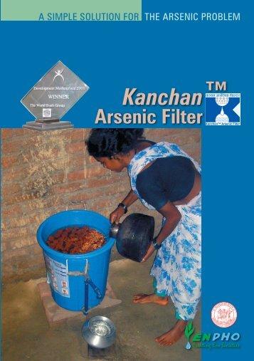Kanchan Arsenic Filter - Changemakers