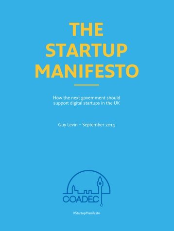 Startup-Manifesto