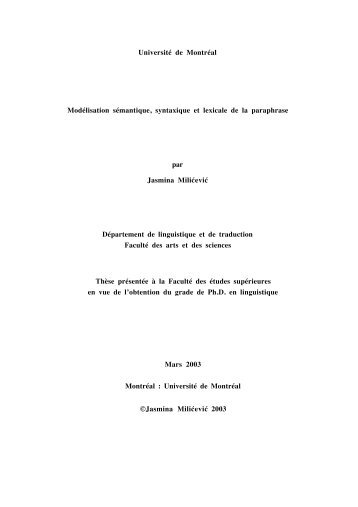 PDF(1,4MB) - Observatoire de linguistique Sens-Texte (OLST)