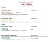 Crime Reports - Stafford County Sheriff's Office