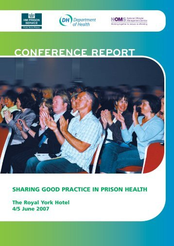 Conference Report pg 1-16 - Offender Health Research Network