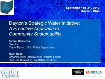 Dayton's Strategic Water Initiative: A Proactive ... - Ohiowater.org