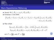 Born-Oppenheimer-Näherung