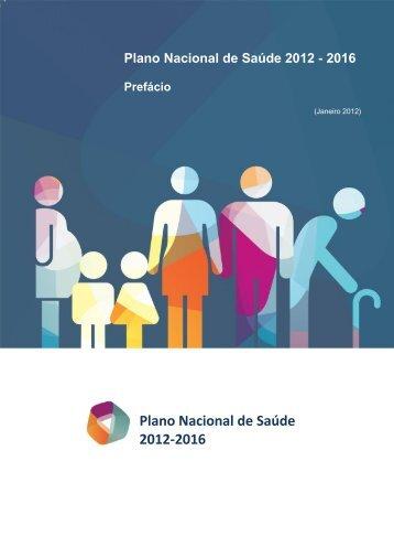 prefácio - Plano Nacional de Saúde 2012 – 2016
