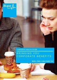 Corporate Voluntary Brochure - JLT
