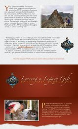 Leaving a Legacy Gift - the AAPG Foundation