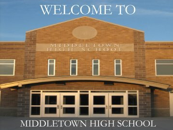 "welcome to the middletown high school class of 2012 ""january ..."