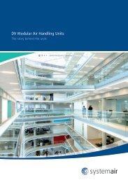 DV Modular Air Handling Units - Systemair