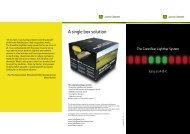 GreenStar Lightbar Brochure - John Deere