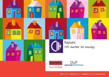 Download the charter - Chartered Institute of Housing