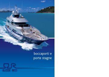 boccaporti e porte stagne - Calibra Marine International