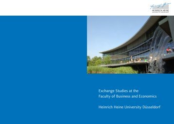 Exchange Studies at the Faculty of Business and Economics ...