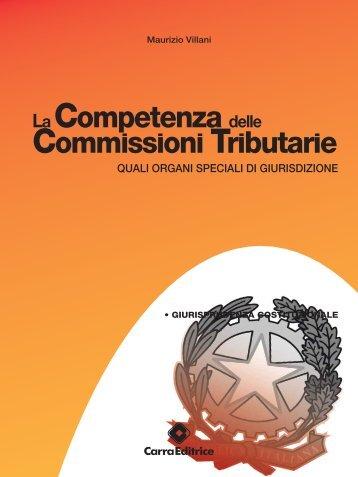 competenza delle Commissioni tributarie