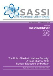 The Role of Media in National Security -  [www.sassu.org.uk]