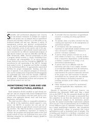 Chapter 1 - Federation of Animal Science Societies