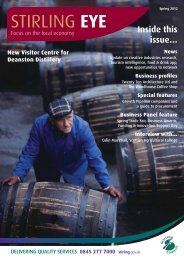 Inside this issue… - Stirling Council
