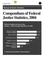 Chapter 7 - Bureau of Justice Statistics