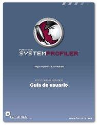 Instalación de Faronics System Profiler Enterprise