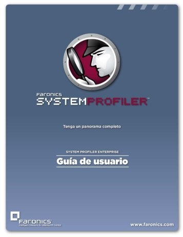 Instalación de Faronics System Profiler Enterprise