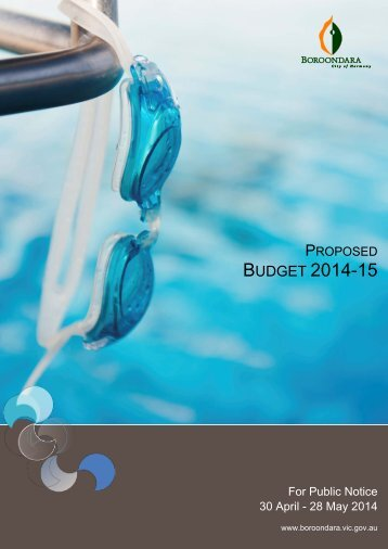 Proposed Budget 2014-15