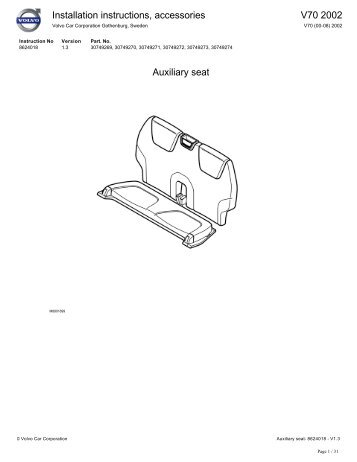 306 and 313 AUXILIARY CONTROL INSTALLATION INSTRUCTIONS