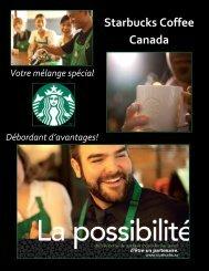 Votre mélange spécial - Starbucks