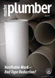 June 2012 - Master Plumbers Association of Queensland