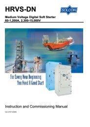 Instruction manual HRVS-Dn - Esco Drives & Automation
