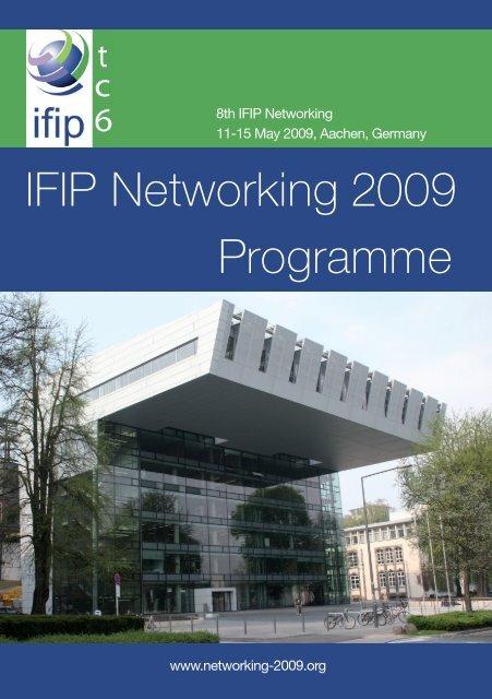 IFIP Networking 2009 Programme - RWTH Aachen University