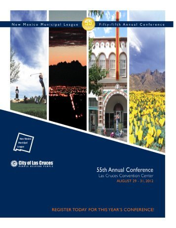 55th NMML Annual Conference Attendee Information Las Cruces ...