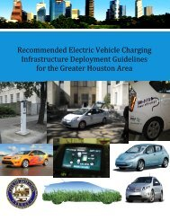 Recommended Electric Vehicle Charging ... - Green Houston
