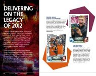 Delivering on 2012's legacy - Season Review 2012/13