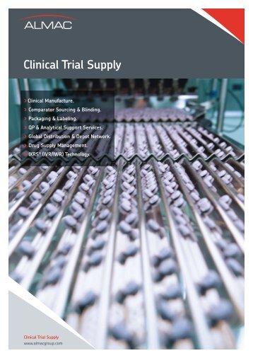 Clinical Trial Supply - Almac