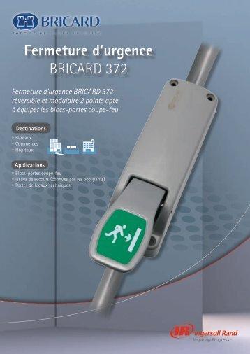 Fermeture d'urgence BRICARD 372